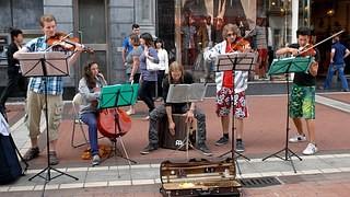 Dublin street music