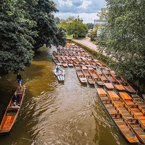 Oxford river punts-1378635_640