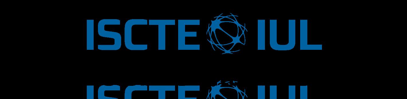 logo iscte iul- In Blue